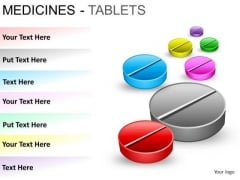 PowerPoint Slides Leadership Medicine Tablets Ppt Backgrounds