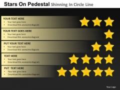 PowerPoint Slides Leadership Pedestal Shinning Ppt Slidelayout