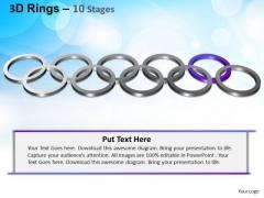 PowerPoint Slides Leadership Rings Ppt Design