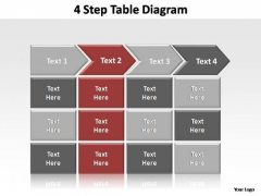 PowerPoint Slides Leadership Table Diagram Ppt Presentation Designs
