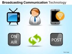 PowerPoint Slides Marketing Communication Technology Ppt Layouts