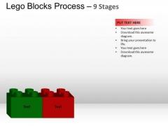 PowerPoint Slides Marketing Lego Blocks Ppt Slides