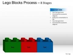 PowerPoint Slides Marketing Lego Blocks Ppt Template