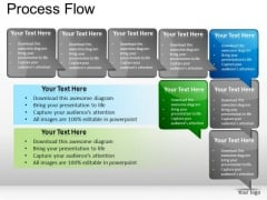 PowerPoint Slides Marketing Process Flow Ppt Themes