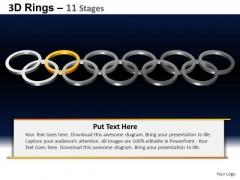 PowerPoint Slides Marketing Rings Ppt Slides