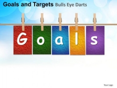 PowerPoint Slides Process Goals And Targets  Ppt Layouts