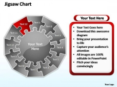 PowerPoint Slides Process Jigsaw Ppt Presentation Designs