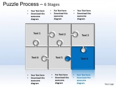 PowerPoint Slides Process Puzzle Ppt Slides