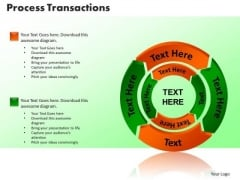 PowerPoint Slides Process Transaction Company Ppt Backgrounds