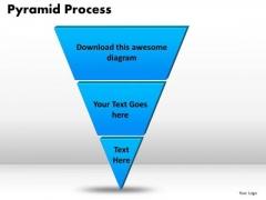 PowerPoint Slides Pyramid Process Marketing Ppt Slides