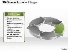 PowerPoint Slides Sales Circular Arrows Ppt Slide Designs