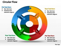 PowerPoint Slides Sales Circular Ppt Slides