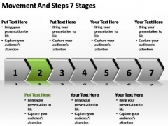 PowerPoint Slides Sales Movement And Steps Ppt Presentation