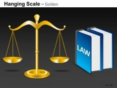 PowerPoint Slides Scales Of Justice Editable Ppt Templates