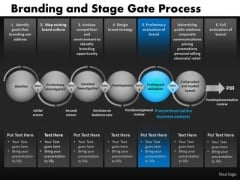 PowerPoint Slides Stage Gates Process Diagram Ppt Templates
