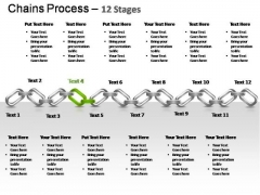 PowerPoint Slides Strategy Chains Ppt Designs