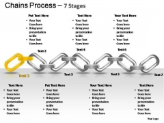 PowerPoint Slides Strategy Chains Ppt Themes
