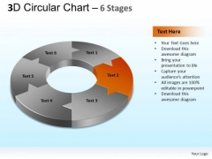 PowerPoint Slides Strategy Circular Chart Ppt Backgrounds