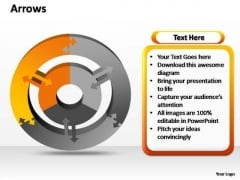 PowerPoint Slides Strategy Circular Reasoning Ppt Backgrounds