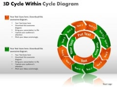 PowerPoint Slides Strategy Cycle Process Ppt Layouts