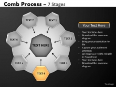 PowerPoint Slides Strategy Hub And Spokes Process Ppt Presentation