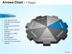PowerPoint Slides Success Arrows Chart Ppt Slides