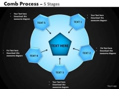 PowerPoint Slides Success Hub And Spokes Process Ppt Layouts