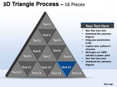 PowerPoint Slides Success Triangle Process Ppt Slide Designs