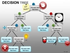 PowerPoint Slides With Decision Tree Graphical Representation