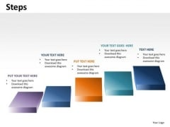 PowerPoint Steps Stairs Diagram Slides Ppt Templates