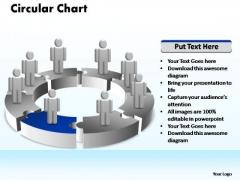 PowerPoint Template Business Circular Ppt Slide Designs