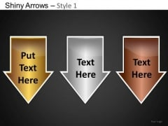 PowerPoint Template Business Competition Shiny Arrows Ppt Slide Designs