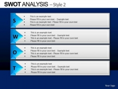 PowerPoint Template Business Competition Swot Analysis Ppt Layouts
