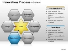 PowerPoint Template Business Hexagon Chart Ppt Slides