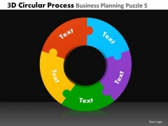 PowerPoint Template Business Leadership 3d Circle Chart Process Ppt Presentation Designs