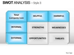PowerPoint Template Chart Swot Analysis Ppt Designs