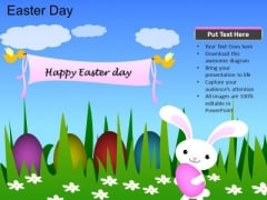 PowerPoint Template Church Easter Day Ppt Process