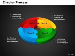 PowerPoint Template Circular Strategy Ppt Designs