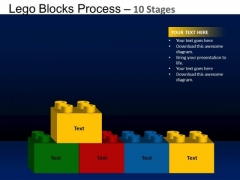 PowerPoint Template Company Lego Blocks Ppt Layout