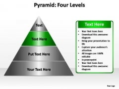 PowerPoint Template Company Pyramid Four Ppt Template