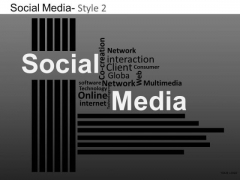 PowerPoint Template Company Strategy Social Media Ppt Presentation