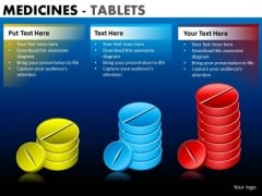 PowerPoint Template Corporate Leadership Medicine Tablets Ppt Design Slides
