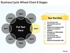PowerPoint Template Diagram Business Cycle Ppt Theme