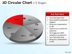 PowerPoint Template Diagram Circular Ppt Template