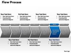 PowerPoint Template Diagram Flow Process Ppt Slide