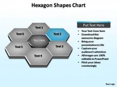 PowerPoint Template Diagram Hexagon Shapes Ppt Design
