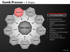 PowerPoint Template Diagram Hub And Spokes Process Ppt Design
