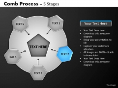 PowerPoint Template Diagram Hub And Spokes Process Ppt Layouts