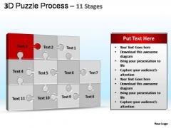 PowerPoint Template Diagram Puzzle Process Ppt Designs