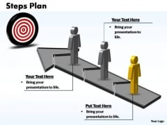 PowerPoint Template Diagram Steps Plan 3 Stages Style 3 Ppt Design